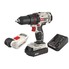 PORTER-CABLE 2-Tool 20-Volt Max Lithium Ion (Li-ion) Cordless Combo Kit