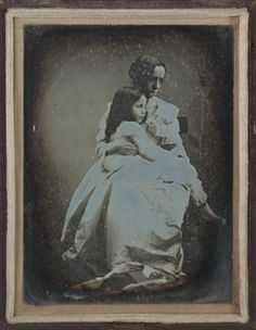 Portrait of Julia Margaret Cameron with her daughter, Julia, 1845, National Media Museum Collection