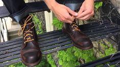 How to Lace the Normandy Boot. Allen EdmondsNormandieSchnüren 78e67fbf9d4