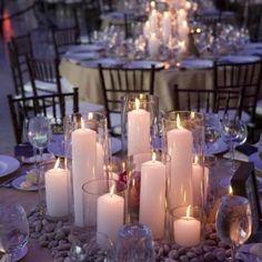 Hochzeitskerzen   romantische warme Licht !