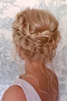 36 Chic And Easy Wedding Guest Hairstyles Wedding Guest Hairstyles On Blonde Hair Braided Crown With Loose Curls gemmaholidayhairartistry - frisuren Braided Crown Hairstyles, Box Braids Hairstyles, Loose Hairstyles, Bride Hairstyles, Simple Hairstyles, Bridesmaid Hairstyles, Trending Hairstyles, Bridal Braids, Bridal Hair