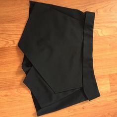 Zara black skort Zara black skort in good condition Zara Shorts Skorts