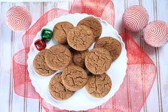 Gingersnap Mocha Cookies {satisfymysweettooth.com}