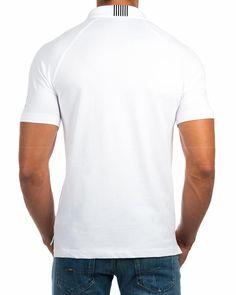· Polos Armani EA7 en blanco · Polos Armani EA7 95% algodón y 5% elastano · Polos Armani EA7 con logos c...
