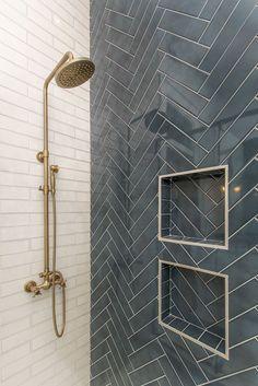 Downstairs Bathroom, Bathroom Renos, Small Bathroom, Paris Bathroom, White Bathroom, Bath Remodel, Shower Remodel, Bathroom Interior Design, Bathroom Tile Designs