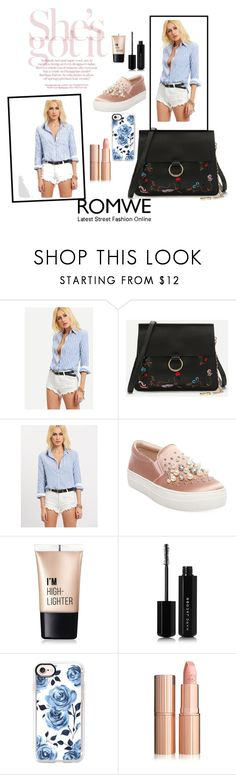 """""""Untitled #31"""" by cecyaguilar ❤ liked on Polyvore featuring Steve Madden, Charlotte Russe, Marc Jacobs and Casetify"""
