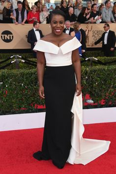 Uzo Aduba - Every Best Dressed Look from the 2017 SAG Awards  - Photos