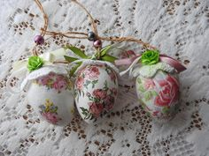 Easter Eggs Easter Handmade Eggs Decor Home Decor by JadAngel