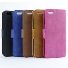 4,90€ Elegante Luxus Wildleder Stil Handytasche Flip Case Handy Tasche Hülle iPhone - Suede Wallet Flip Case Handyhülle bzw. Handytasche im Wildlederlook.