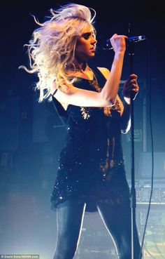 Taylor momsen, the pretty reckless she's really pretty when she is modest and not wearing super short shorts and stuff.