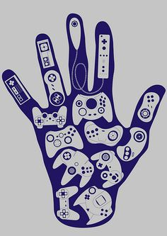 Game Controller poster Art  #videogames #videogame #game #art #games #gaming #gamer #gamers