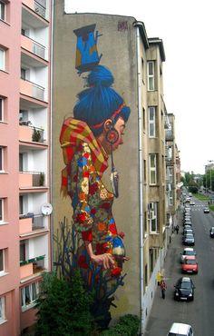 As melhores artes de rua (street arts) espalhadas pelo mundo - Design - Cinema - Música - Tecnologia
