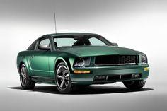 The 2008 Ford Mustang Bullitt, a Tribute to Steve McQueen | Baxtton