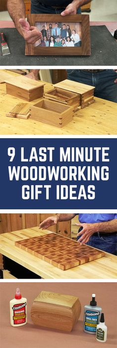 9 Last-Minute Woodworking Gift Ideas | WoodWorkers Guild of America