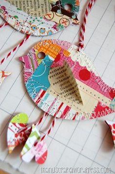 lovely little paper #bird #craft #BirdCraft #PaperBird