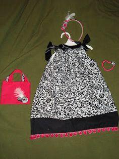 Pillow case dresses!! So easy to make