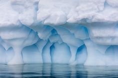 Photographs of Antartica's Blue Ice at Eye Level by Julieanne Kost   Colossal   Bloglovin'