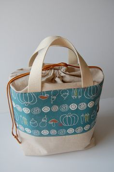Insulated Bento Lunch Bag Made to Order by BPoppiesHandmade