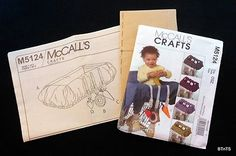 McCalls Pattern Babys Grocery Cart Liner Toys M5124 Infants Toddlers Sewing NEW