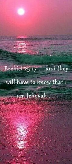 Jehovah God's own words..not ours.