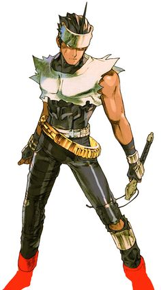 View an image titled 'Hayato Kanzaki Art' in our Marvel vs. Capcom 2 art gallery featuring official character designs, concept art, and promo pictures.