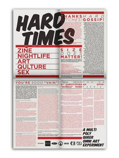 Hard Times | Issue 4 by Kyle B Macy™