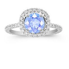 white ice ring engagement photo listing rose fullxfull to gallery hexagon blue il sapphire