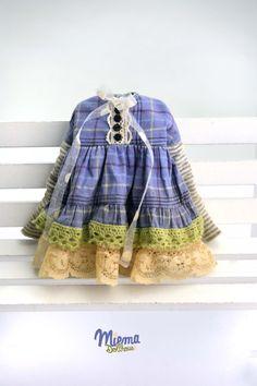 Vintage robe Style pour Blythe de Miema Dollhouse