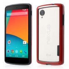 Bumper Nexus 5 Ultra-slim Backless - Rosso  € 6,99