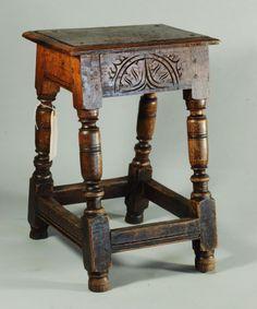 17th Century Stool