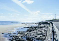 Seaburn Beach, Sunderland UK.