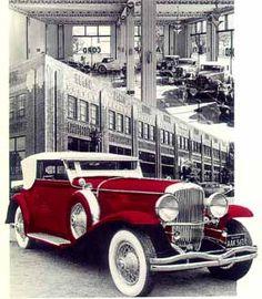 Auburn, Indiana - The Auburn Cord Duesenberg Museum