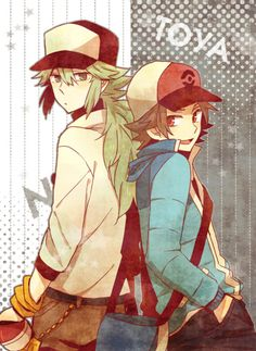 Hilbert and N, reincarnations of somewhat of the Hero of Ideals and Hero of Truth whom Zekrom and Reshiram recognize