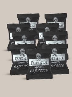 Capsule Caffè Boasi 'Amabile' 100 pcs - DESCRIPTION: A strong and elegant coffee blend. PACKAGES: capsule