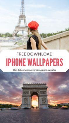 Aesthetic Paris iPhone Wallpapers