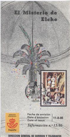 Sello coronación de la Virgen 11-8-1986