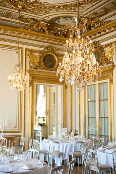 Hotel Crillon in Paris.