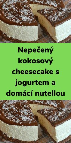 Cheesecake, Nutella, Tiramisu, Food And Drink, Baking, Ethnic Recipes, Cheese Cakes, Bakken, Bread