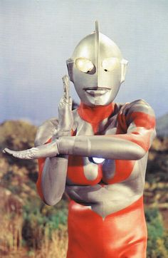 "Ultraman (this was one of my fave shows as a kid...My generation's ""Power Ranger"")"