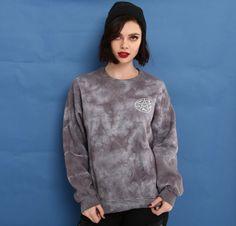 Sweatshirt possession // Supernatural Saving People Hunting Things Tie Dye Girls Sweatshirt