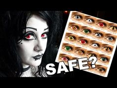 (79) Are Coloured Lenses SAFE? 10 Care Tips! | Black Friday - YouTube Different Heaven, Uk Music, Color Lenses, Cosplay, The Little Prince, Black Friday, Friday Youtube, Halloween Face Makeup, Make It Yourself
