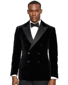 Anthony Velvet Dinner Jacket - Black Label Sport Coats - RalphLauren.com