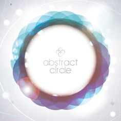 Abstract Circle Vector Graphic - DryIcons