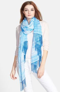 Brazen Paisley Print Scarf available at #Nordstrom
