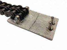 2-Row Biker Chain Belt