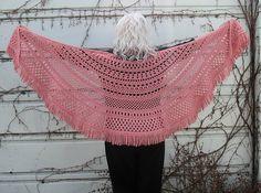 easy crochet shawl! - free pattern!