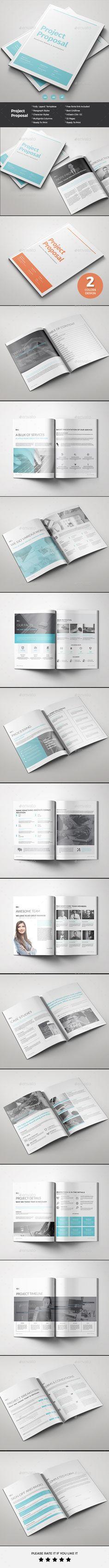 Proposal Text fonts Creative design