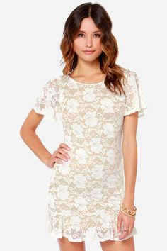 d45b623ef Beautiful Dresses For Women, Lace Outfit, Lace Dress, Lace Tops, Wedding