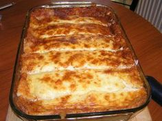 Cookbook Recipes, Cooking Recipes, Fun Cooking, Greek Recipes, Brunch Recipes, Lasagna, Food And Drink, Easy Meals, Appetizers