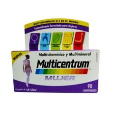 Multicentrum Mujer (90 compr.)